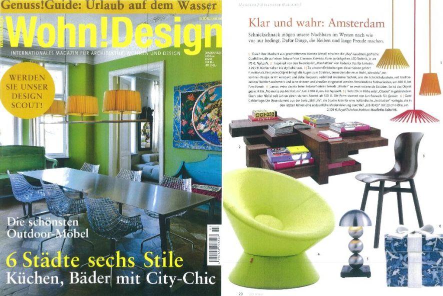 Wohn design juni 2012 standaard for Wohndesign 2012